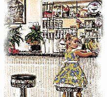 Rockin Robin's Soda Shop by Randy Branham