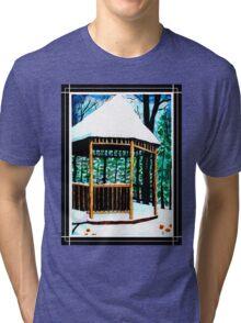 Winter Gazebo Tri-blend T-Shirt