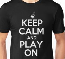 Keep Calm and Play On Bagpipes Unisex T-Shirt