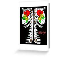 Sugar Skeleton (Back) Greeting Card