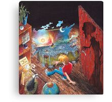 Book 1 - Shadows in the Attic Canvas Print