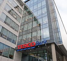 Tesco Bank  in Glasgow by Keith Larby