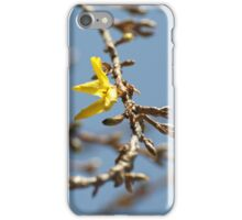 yellow is spring iPhone Case/Skin