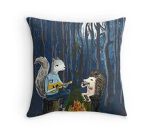 Campfire Songs by Paper-Sparrow Throw Pillow
