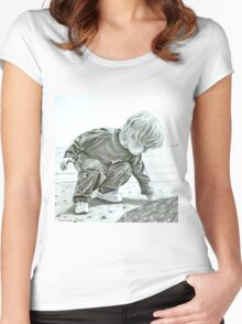 Guess What I've Found Women's Fitted Scoop T-Shirt