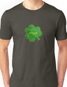 Saint Patrick's Day lucky green clover  Unisex T-Shirt