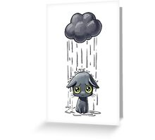 Pouring Greeting Card