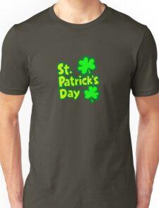 Saint Patrick's Day lucky clover  Unisex T-Shirt