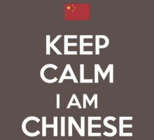 Keep Calm I'M CHINESE Kids Clothes