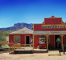 ApacheLand Mercantile by LoneTreeImages