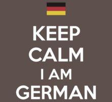 Keep Calm I'M GERMAN Kids Clothes