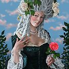 The Rose of Marie Antoinette by marksatchwillart