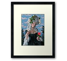 The Rose of Marie Antoinette Framed Print