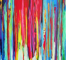 Neon Abstract by Jackie  Phillips