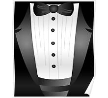 Groom wedding party bachelor party novelty Tuxedo  Poster