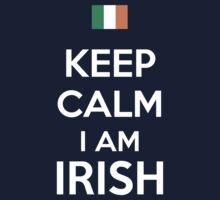 Keep Calm I'M IRISH Kids Clothes