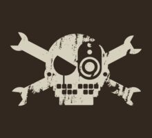 Grunge Crossbones by DeadEndKid