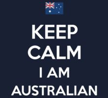 Keep Calm I'M Australian Kids Clothes