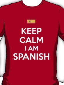 Keep Calm I'M Spanish T-Shirt