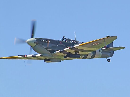 Supermarine Spitfire IX – Kent Spitfire by Colin J Williams Photography