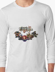 Pixel Pentakill Long Sleeve T-Shirt