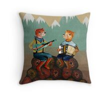 Foresters - Bear Duo Throw Pillow
