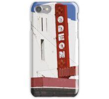 Odeon Theater, Tucumcari, New Mexico iPhone Case/Skin