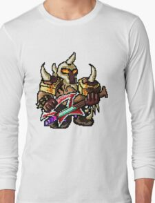 Pixel Pentakill Mordekaiser Long Sleeve T-Shirt