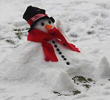 Relaxing Snowman by Jo Nijenhuis