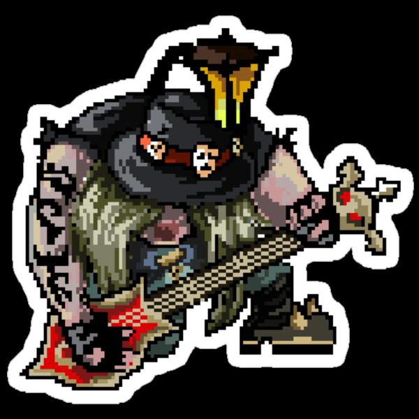 Pixel Pentakill Yorick by Pixel-League