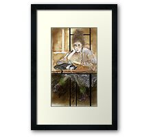 After breakfast Framed Print