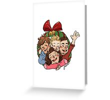 Xmas Boys Greeting Card