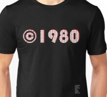 Year of Birth ©1980 - Dark variant (2) Unisex T-Shirt