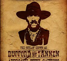 "Wanted Bufford ""Mad Dog"" Tannen by NicoWriter"