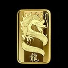 PAMP Gold Dragon on Black by jlerner