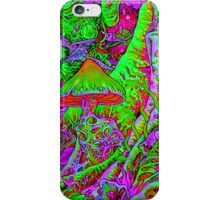 Psychedelic Mushrooms  iPhone Case/Skin