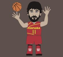 NBAToon of Juan Carlos Navarro, player of FC Barcelona by D4RK0