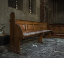 church bench by Nicole W.