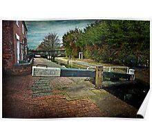 Blockhouse Lock, Worcester UK Poster