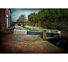 Blockhouse Lock, Worcester UK Photographic Print