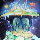 Abstract Space Turtle by wbroookss