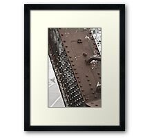 Raw Material Framed Print