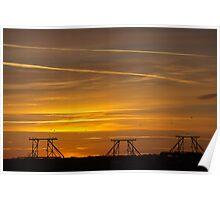 Mississippi Sunrise Poster