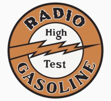 Radio Gasoline High Test T-shirt by JohnOdz
