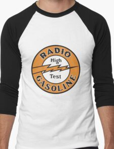 Radio Gasoline High Test T-shirt Men's Baseball ¾ T-Shirt