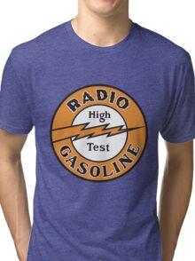 Radio Gasoline High Test T-shirt Tri-blend T-Shirt