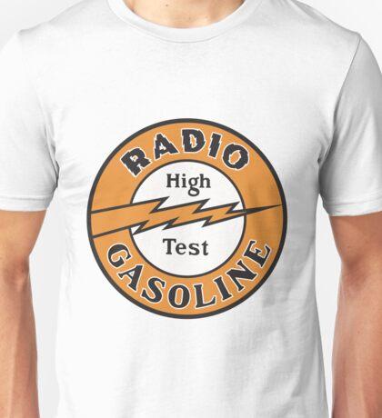 Radio Gasoline High Test T-shirt Unisex T-Shirt