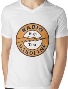 Radio Gasoline High Test T-shirt Mens V-Neck T-Shirt