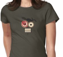 SteamPunk Pigtails Womens Fitted T-Shirt