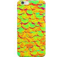 Florescent fish scales iPhone Case/Skin